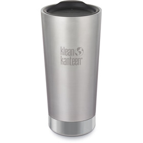 Klean Kanteen Tumbler Vacuum Insulated Borraccia 592ml, brushed stainless